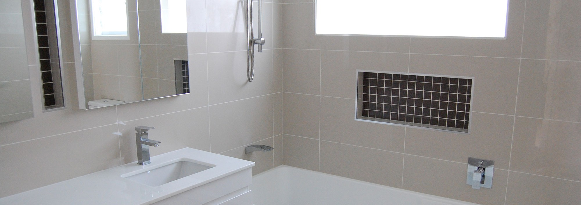 Leerberg tiling wall floor bathroom tilers in sydney for Bathroom remodelling sydney
